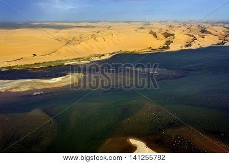 The Coast In Namibia