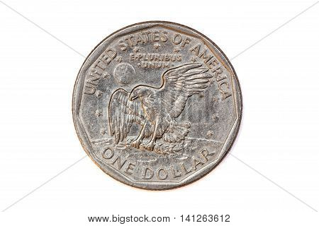 This is 1979 US dollar coin, reverse