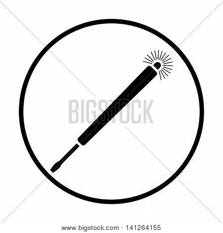 Electricity Test Screwdriver Icon