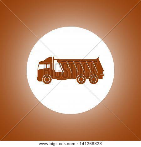 Truck Icon. Vector Concept Illustration For Design.