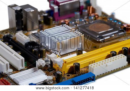 Circuit board of computer components, electronical device