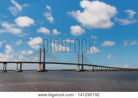 Bridge Ponte Construtor Joao Alves In Aracaju, Sergipe, Brazil