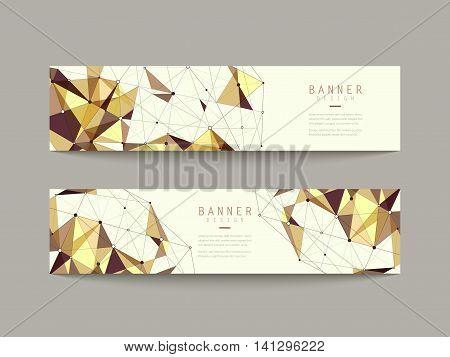 Geometric Banner Design