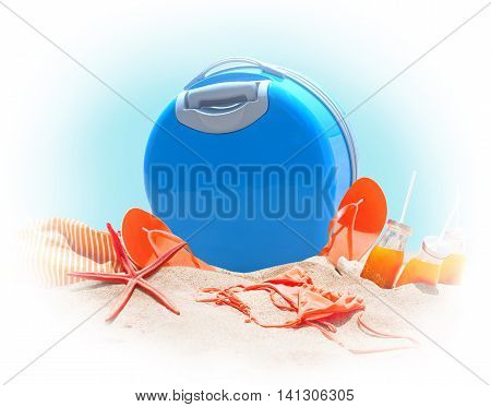 Holidays Accessories Travel Concept Art Collage
