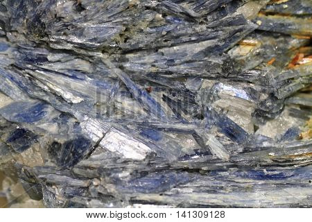Kyanite Mineral Background