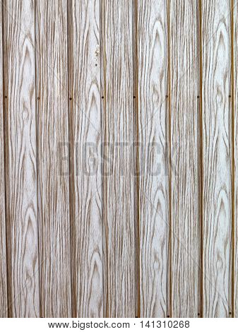 closeup of pine cladding with knots grain and nails