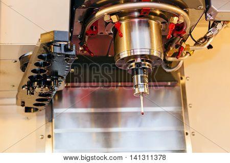 Detail Of Laser Cutting Machine Head
