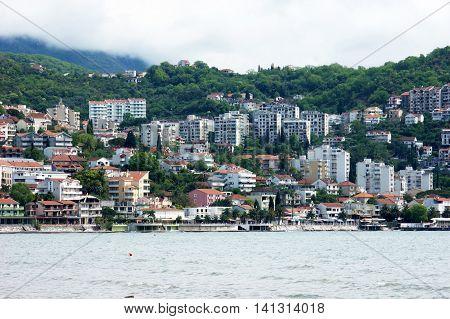 General view of Herceg Novi in Montenegro