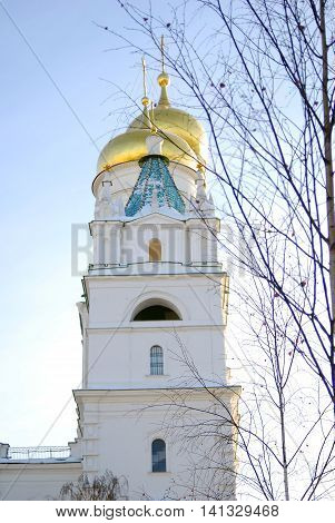 Ivan the Great Bell tower. Moscow Kremlin. UNESCO World Heritage Site.