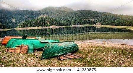 Black Lake Montenegro The Durmitor National Park Montenegro tourist attraction
