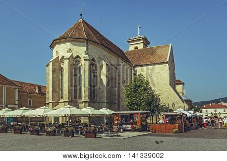 Saint Michael Cathedral, Alba Iulia, Romania