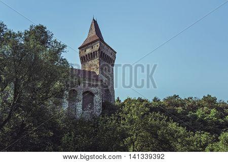 Neboisa Tower, Corvin Castle, Romania
