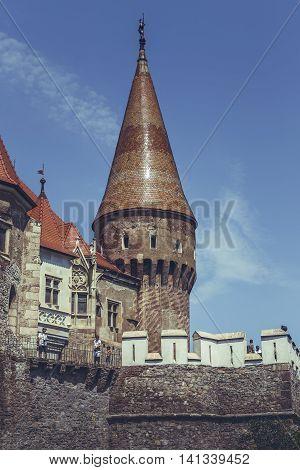 Mace Tower, Corvin Castle, Romania
