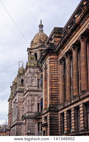 Glasgow City Chambers In George Square In Merchant City