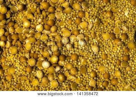 Millet, peas, cereal, millet background, cereal background, peas background, millet with peas, yellow cereal background, backdrop of cereals, cereal grains, millet pea background, closeup of grains of millet and peas, millet grains, abstract background