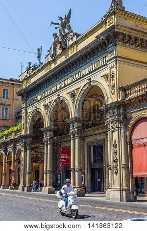 Arena Del Sole Theatre Of Bologna. Emilia-romagna. Italy.