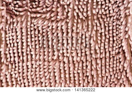 feet doormat or carpet texture background .