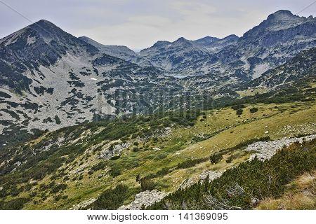 Amazing sumer panorama to Pirin Mountain, Bulgaria