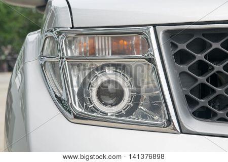 Headlights of a Car, finish, brilliant, auto