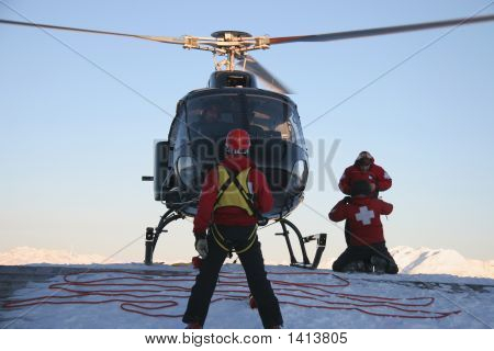 Helicopter Hoist Team