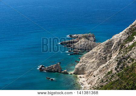 Rocks near Petani Beach, Kefalonia, Ionian Islands, Greece