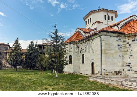 Church and old buildings in Arapovo Monastery of Saint Nedelya, Plovdiv Region,  Bulgaria