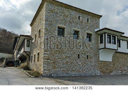 Outside view of Gornovodenski monastery St. Kirik and Julita, Asenovgrad,  Plovdiv Region,  Bulgaria
