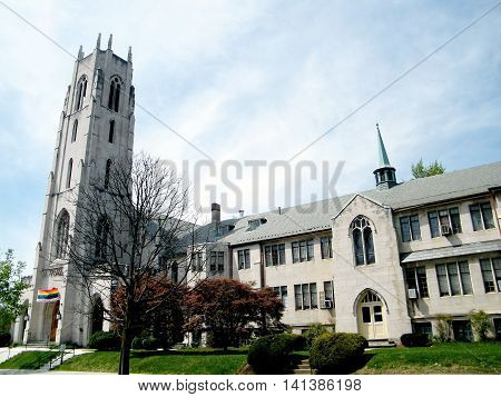 Presbyterian Church of the Pilgrims in Washington DC USA