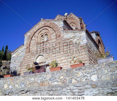 Church of St. John (Sveti Jovan) at Kaneo Ohrid Macedonia