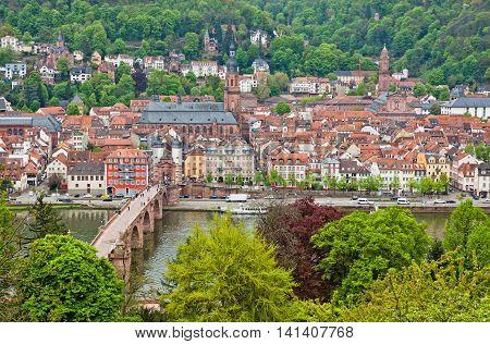 Heidelberg Old Town, Germany