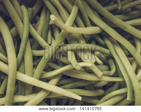 Green Bean Vintage Desaturated
