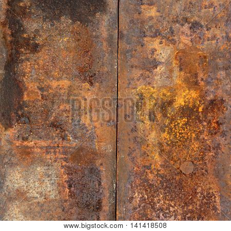 rusty background texture.