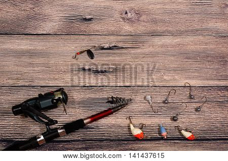 Fishing Tackle - Spinning, Line, Hooks And Lures