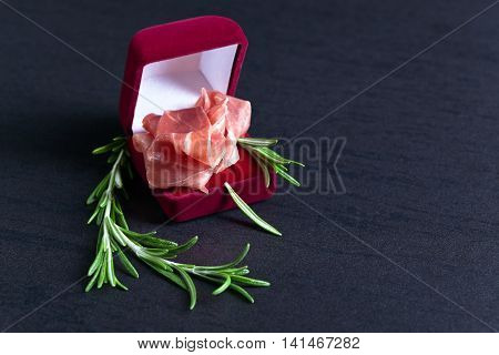 Jamon With Rosemary
