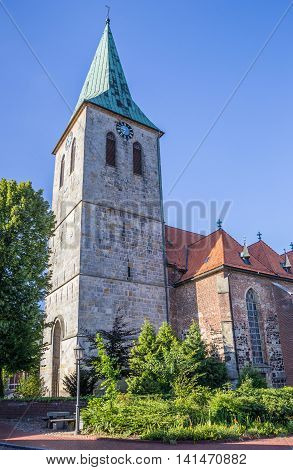 St. Vincentius Church In Histoical City Haselunne