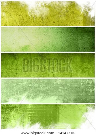 Great banners for textures and backgrounds