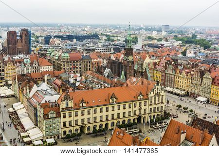 Market Square, Wroclaw.