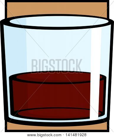 alcoholic drink glass