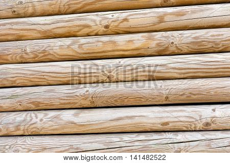 Wooden Wall As Background.