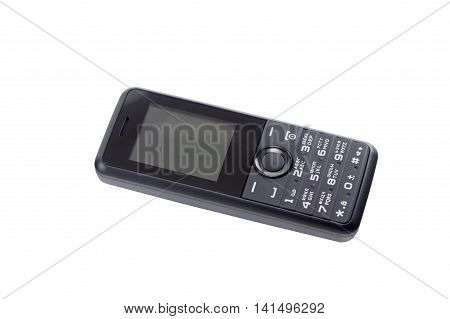the new Cellular telephone on white background
