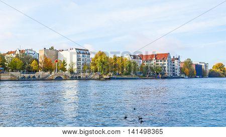 River Spree, Berlin Hdr