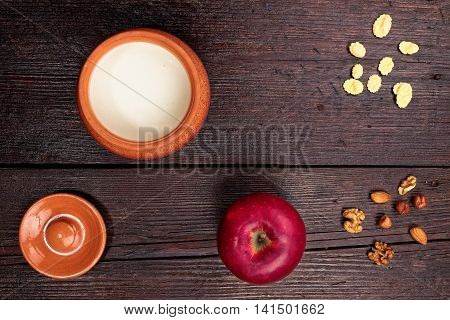 Rustic Healthy Breakfast