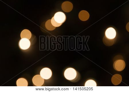 blurred circle shine xmas lights background image