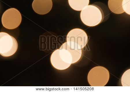 blurred shine circle xmas lights background image