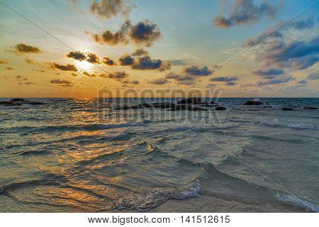 Sunrise Sea Beach Summer
