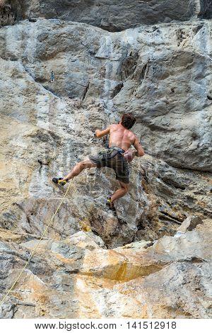 Mountain Climbing Extreme Sports