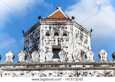 Tower Phra Sumen Fort, Mahakan Fort