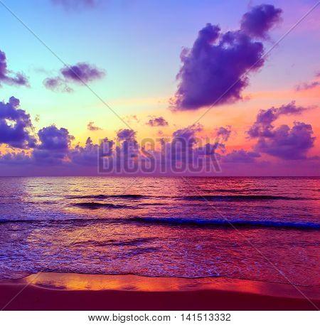 Background Sunset