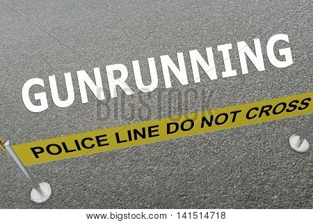 Gunrunning - Criminal Concept