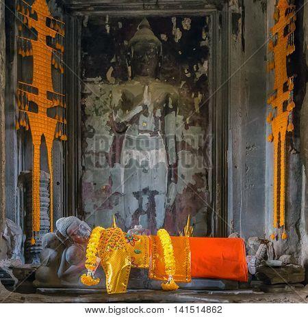Buddha Angkor Wat